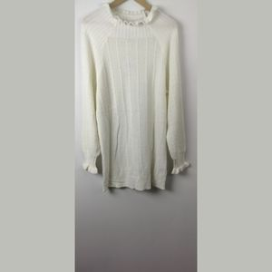 NWT Storia Cream Cable Knit Sweater tunic